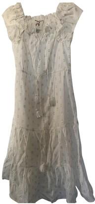 Figue Beige Cotton Dress for Women