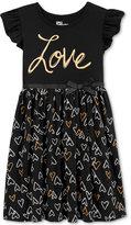 Epic Threads Little Girls' Heart Skater Dress, Only at Macy's