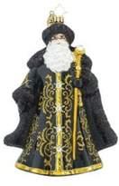 Christopher Radko St. Nicholas Noir Ornament