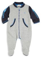 Armani Junior Baby's Zip-Up Footie