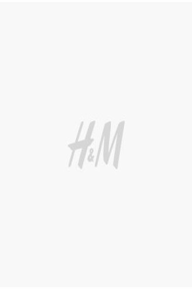 H&M Puff-sleeved satin dress