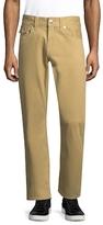True Religion Straight Twill Cotton Pants