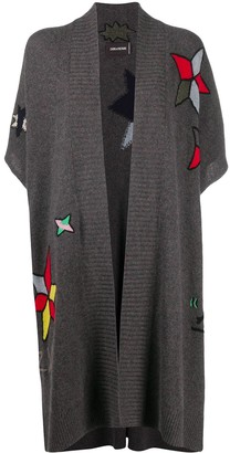 Zadig & Voltaire Indiana embroidered poncho