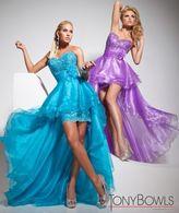 Mon Cheri Paris Prom by Mon Cheri - 113715 Long Dress In Turquoise