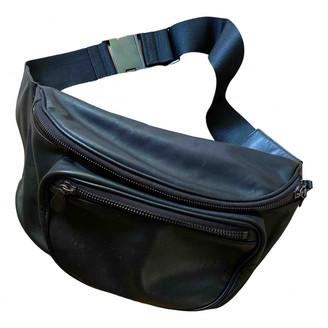 Maison Martin Margiela Pour H&m Black Leather Backpacks