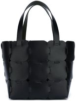 Paco Rabanne patchwork shopper tote - women - Calf Leather - One Size