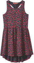 Joe Fresh Kid Girls' Print Tank Dress, JF Midnight Blue (Size XL)