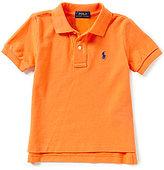 Ralph Lauren Little Boys 2T-7 Short-Sleeve Solid Mesh Polo Sh
