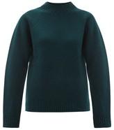 A.P.C. Janet Wool-blend Sweater - Womens - Dark Green