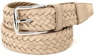 Tod's Braided Buckle Belt