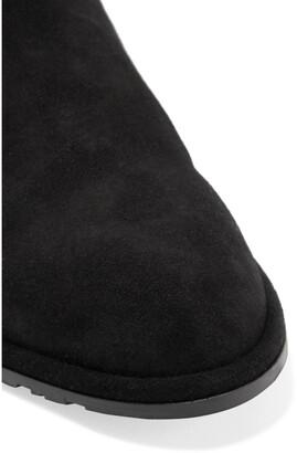 Stuart Weitzman Lowland Suede Over-the-knee Boots - Black