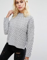 Goldie Committed Oversized Knitted Sweater