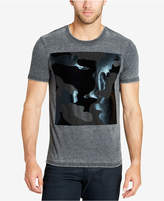 William Rast Men's Mixed Camo T-Shirt
