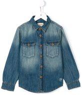 Bellerose Kids - denim shirt - kids - Cotton - 6 yrs