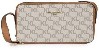 Karl Lagerfeld Paris Logo Printed Crossbody Bag