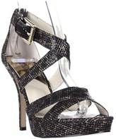 MICHAEL Michael Kors Evie Platform Evening Sandals, Cheetah Brown.