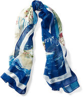 Polo Ralph Lauren Riviera Cotton Scarf