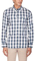 French Connection Men's Clemce Ombre Check Button Down Shirt