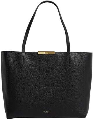 Ted Baker Leather Clarkia Shopper Bag