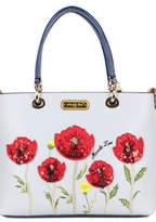 Nicole Lee Floral Embroidered Tote