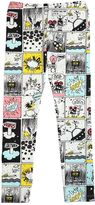 Fendi Comic Printed Cotton Jersey Leggings