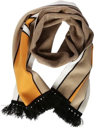 Burberry Stripe Long Knit Scarf