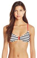 Hobie Women's Offshore Stripe Bralette Bikini Top