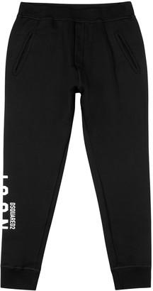 DSQUARED2 Icon black cotton sweatpants