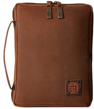 STS Ranchwear STS Tablet/Bible Cover (Tornado Brown) Bags