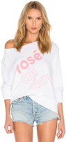 Wildfox Couture More Rose Top