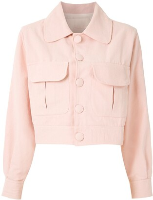 ALUF Michi cropped jacket