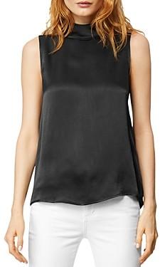 Habitual Arika Sleeveless Reverse-Collar Top