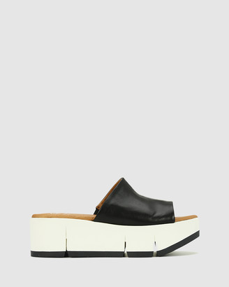 EOS Women's Black Sandals - Palla - Size One Size, 40 at The Iconic