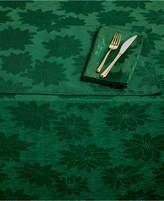 "Bardwil Winter Joy Green 60"" x 84"" Tablecloth"