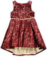 Sweet Heart Rose Lace High-Low Hem Dress, Toddler Girls (2T-5T)