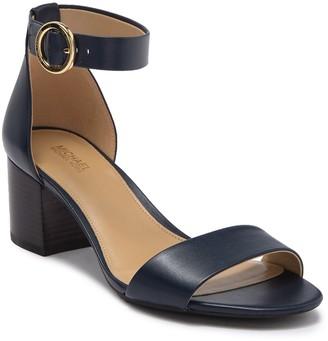 MICHAEL Michael Kors Lena Block Heel Sandal