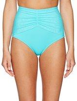 CoCo Reef Women's Classic Solids High Waist Bikini Bottom
