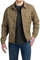 Filson Lined Short Cruiser Jacket - Waxed Cotton (For Men)