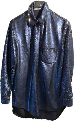 VIVETTA Blue Glitter Jackets