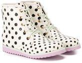 Sophia Webster Mini polka dot ankle boots