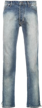 Rhude Stonewashed Bootcut Jeans