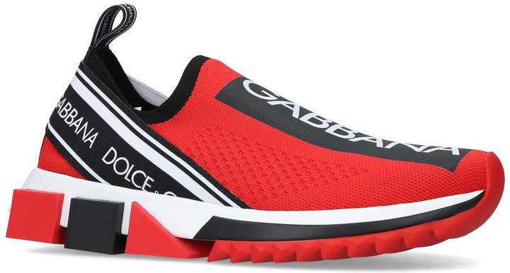 Dolce & Gabbana Branded Sorrento Trainers