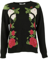 Blugirl Floral Embroidered Sweater