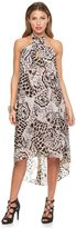 JLO by Jennifer Lopez Women's Cross-Front Halter Dress