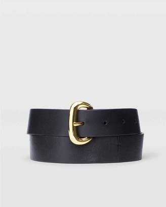 Club Monaco Leather Trouser Belt