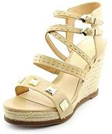 Fergie Womens Averie Open Toe Casual Platform Sandals.