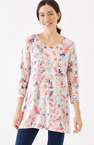 J. Jill Pure Jill Printed Swing Tunic