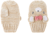 Monsoon Baby Shimmer Bear Mittens