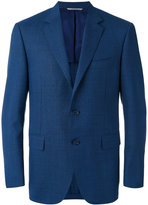 Canali two button blazer - men - Cupro/Wool - 46