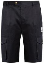 Moncler Gamme Bleu Cotton-gabardine shorts